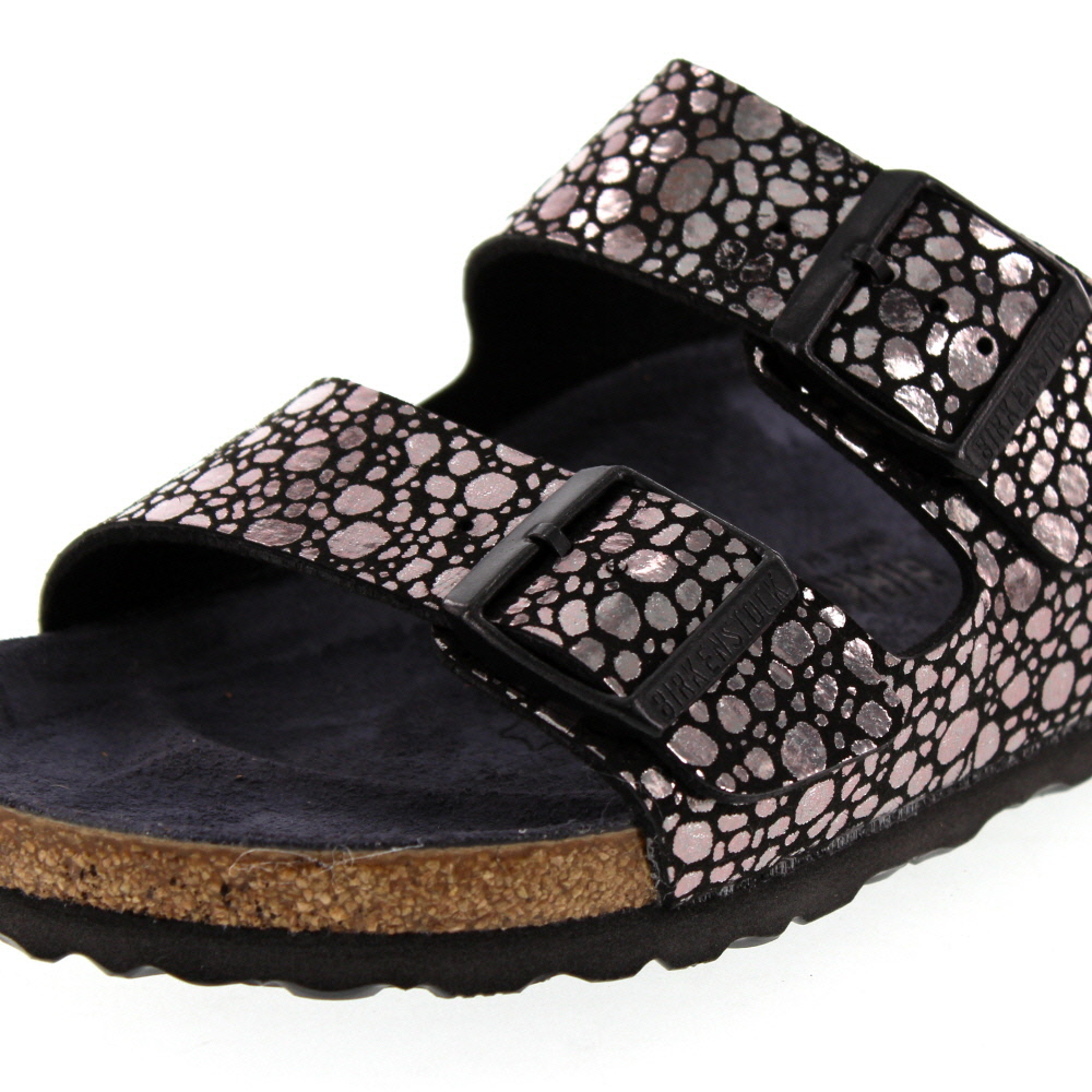 Stones Bf Damen Black Metallic 1008871 Birkenstock Arizona KcFJ1l