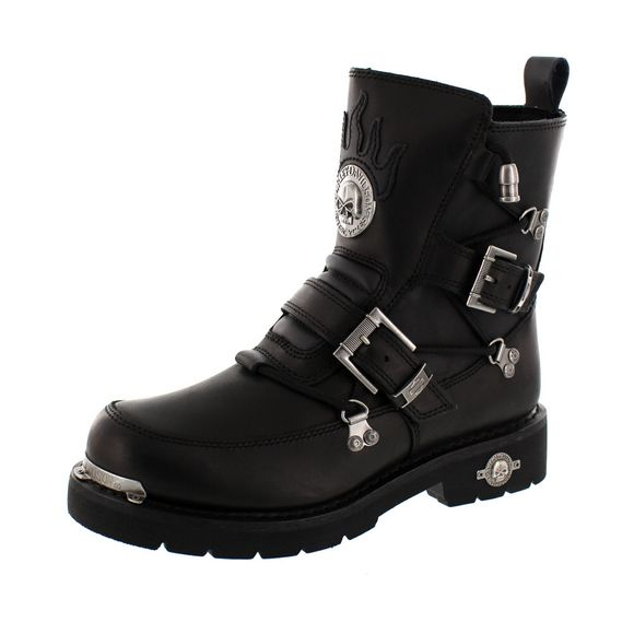 HARLEY DAVIDSON Men - Riding-Boot DISTORTION - D94167 - black