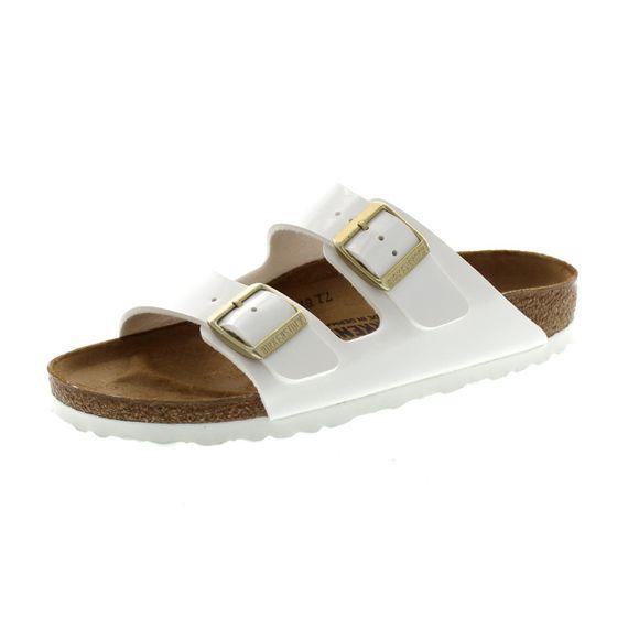 BIRKENSTOCK Damen - Sandale ARIZONA 1005294 - patent white  - Thumb 1