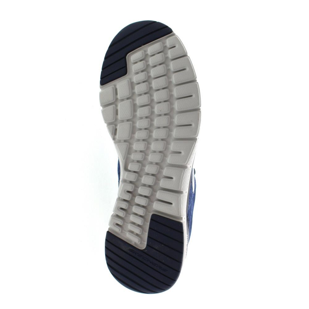 Skechers Flex Advantage 3.0 Stally in Black Gray