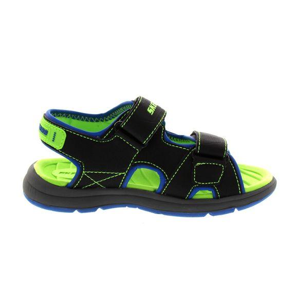 SKECHERS Kinder - Sandale SUN SPURT - 97125L - black blue lime - Thumb 3