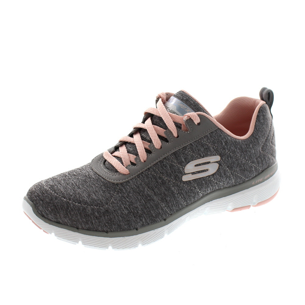 SKECHERS - Flex Appeal 3.0 INSIDERS 13067 - grey lt. pink