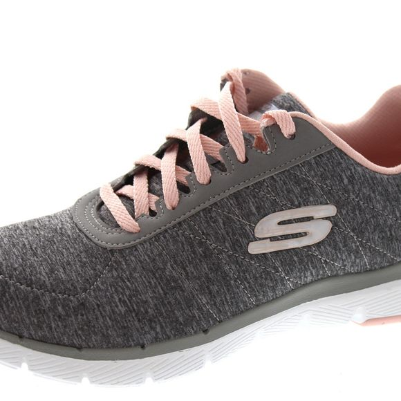 SKECHERS - Flex Appeal 3.0 INSIDERS 13067 - grey lt. pink - Thumb 6