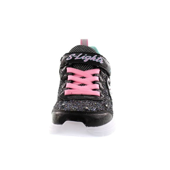 SKECHERS Kinder - S Lights - Glitter n`Glow - 20267L - black pink - Thumb 2
