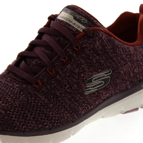 SKECHERS - Flex Appeal 3.0 HIGH TIDES 13077 - burgundy - Thumb 6