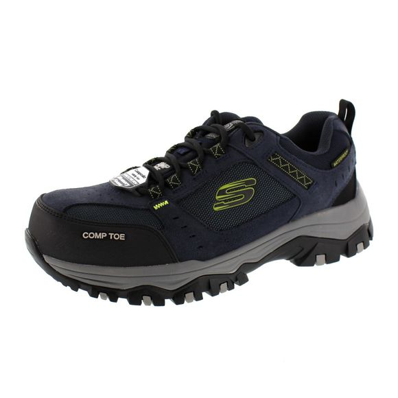 SKECHERS WORK Herren - Sneaker GREETAH 77183EC - navy black - Thumb 1