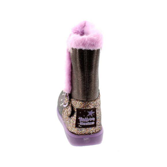 SKECHERS - S Lights SPARKLE HEARTZ 20058L - gun metal purple - Thumb 4