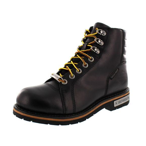 HARLEY-DAVIDSON Herrenschuhe - Boot CRANSTONS - D93584 - black
