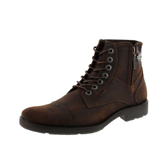 HARLEY-DAVIDSON Herrenschuhe - Boots MAINE D51025 - brown