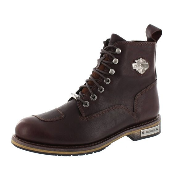 HARLEY-DAVIDSON Herrenschuhe - Boot Willard - D97136 - wine