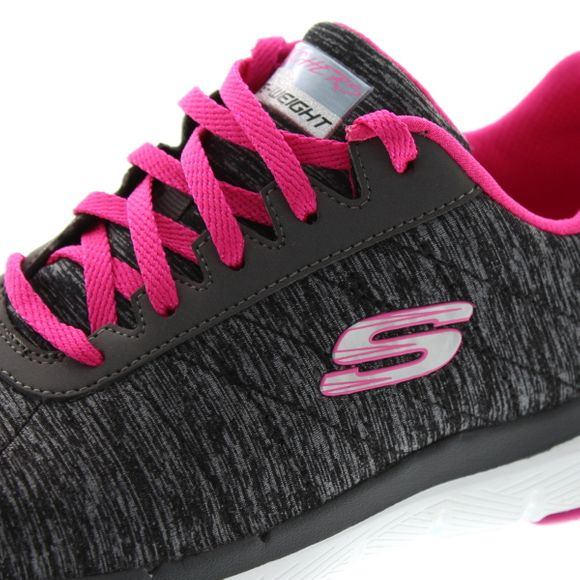 Skechers - Flex Appeal 3.0 Insiders 13067 - black hot pink - Thumb 6