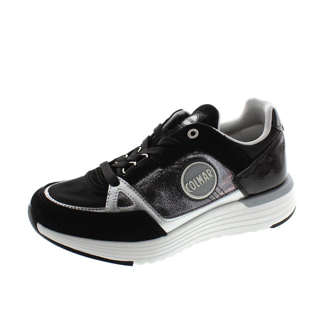 COLMAR Damenschuhe - Sneaker Supreme X-1 Gliss 116 - black