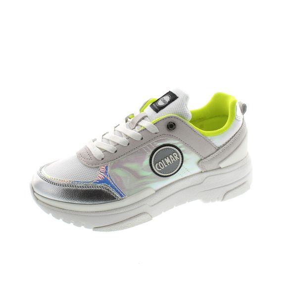 COLMAR Damen - Sneaker Travis S-1 Jelly 162 - white lime