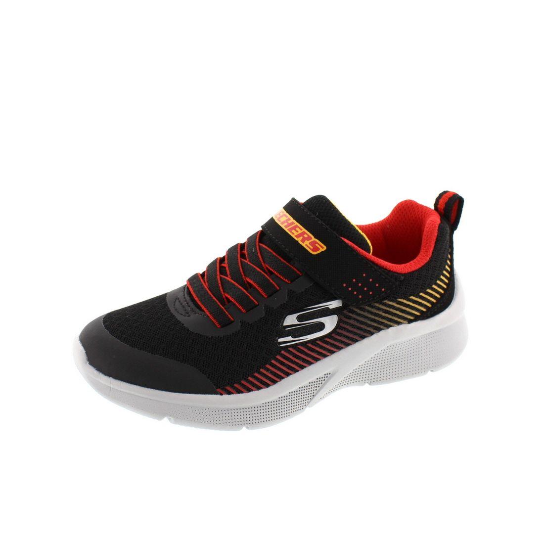 SKECHERS Kinder - Sneaker Microspec Gorza 97535L - black red