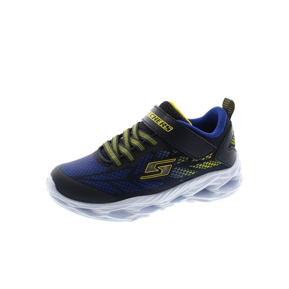Skechers Kinder - S Lights Vortex Flash 400030L - navy yellow - Thumb 1