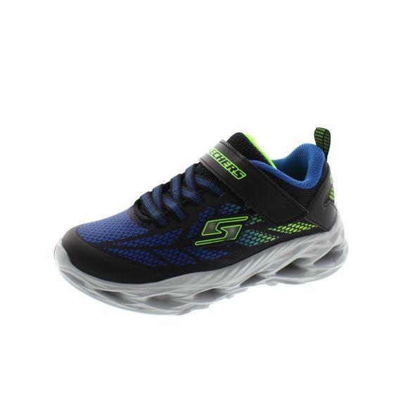 Skechers - S Lights Vortex Flash 400030L - black blue lime - Thumb 1