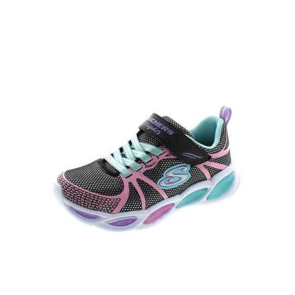 SKECHERS - S Lights Sporty Glow 302042L - black multi - Thumb 1