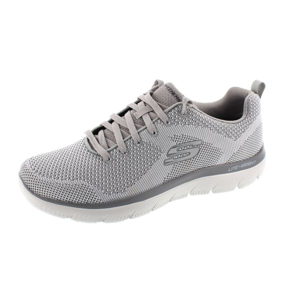 Skechers Herren - Sneaker Summits Brisbane - 232057 - light gray - Thumb 1