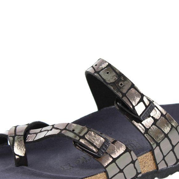 BIRKENSTOCK - Sandale Mayari MF 1016040 - gator gleam black - Thumb 6