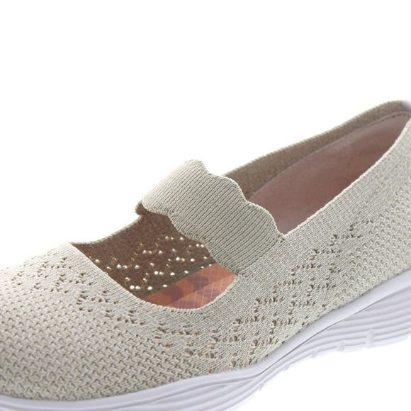 Skechers Damen - Mary Jane Seager Power Hitter 49622 - natural - Thumb 6