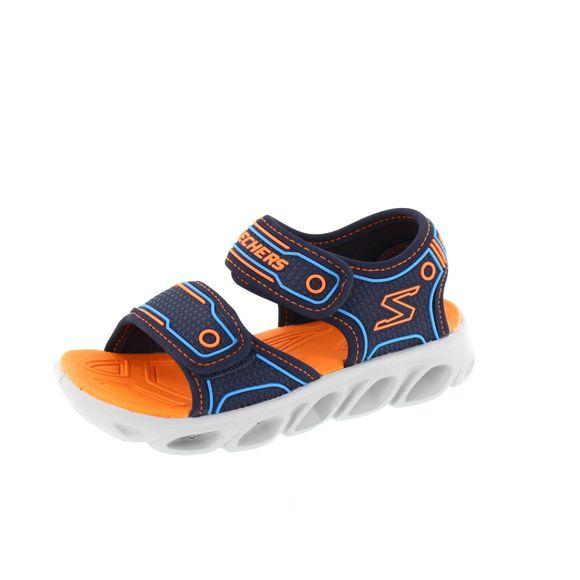 SKECHERS Kinder - HYPNO FLASH 3.0 - 90522 L - navy orange - Thumb 1