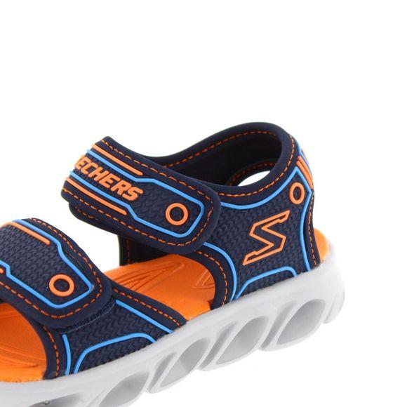 SKECHERS Kinder - HYPNO FLASH 3.0 - 90522 L - navy orange - Thumb 6