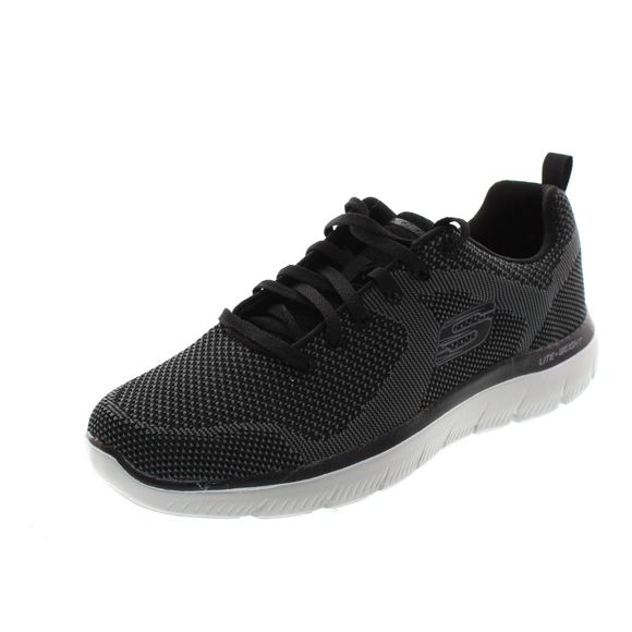 Skechers Herren - Sneaker Summits Brisbane - 232057 - black white - Thumb 1