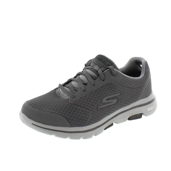 SKECHERS Herrenschuhe – GoWalk 5 Qualify 55509 – charcoal black - Thumb 1