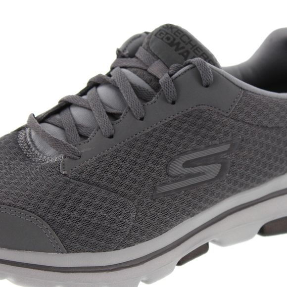 SKECHERS Herrenschuhe – GoWalk 5 Qualify 55509 – charcoal black - Thumb 6