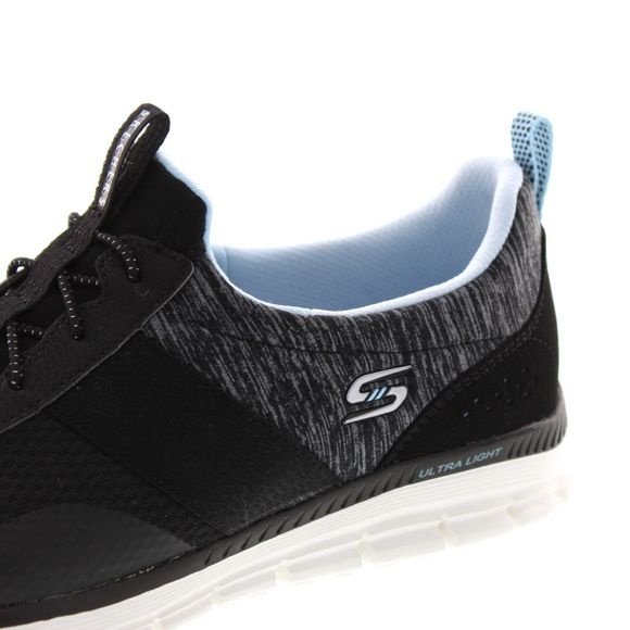 SKECHERS Damenschuhe - Luminate Forever After 104072 - black - Thumb 6