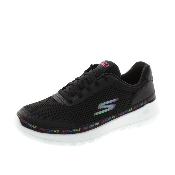 Skechers Damen - GOwalk Joy Magnetic 124088 - black multi - Thumb 1