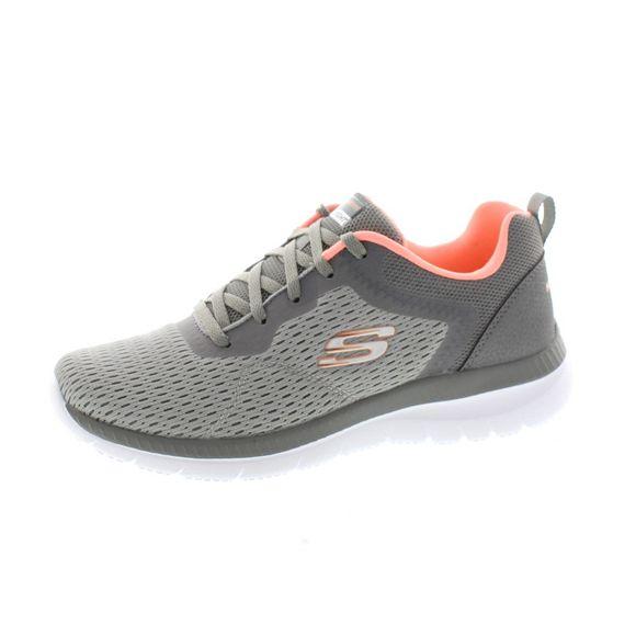 Skechers Damen - Sneaker Bountiful Quick Path 12607 - gray coral - Thumb 1