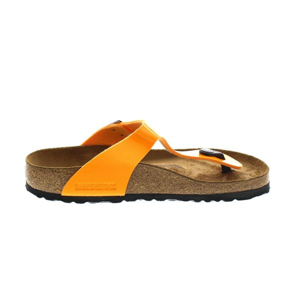 BIRKENSTOCK - Zehentrenner GIZEH 1017598 - patent marygold - Thumb 3
