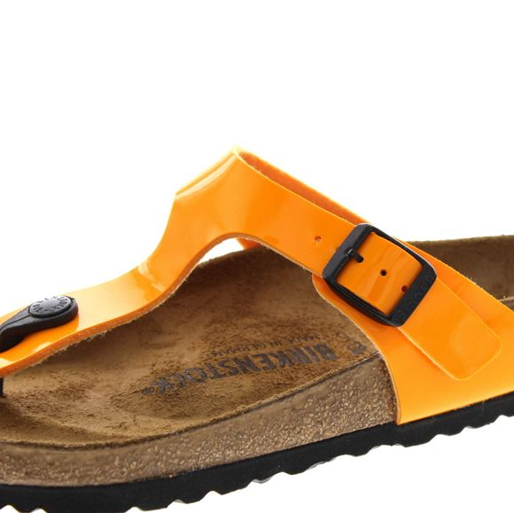 BIRKENSTOCK - Zehentrenner GIZEH 1017598 - patent marygold - Thumb 6