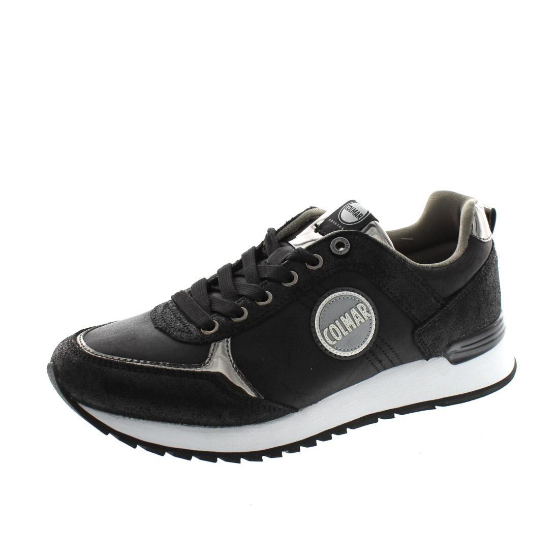 COLMAR Damen - Sneaker Travis Punk 054 - black dark silver