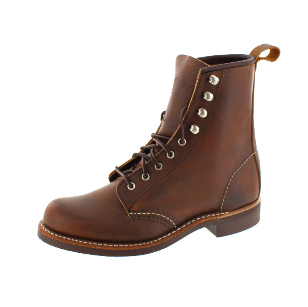 Red Wing Shoes Damen - Schnürboot Silversmith 3362 - copper
