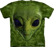 Alien Face T Shirt