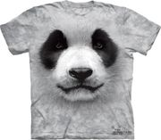 Big Panda Face T Shirt