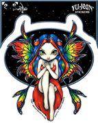 Aufkleber Jasmines Rainbow Fairy
