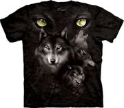 Moon Eyes Collage T Shirt