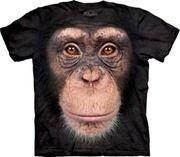 Chimp Face T Shirt
