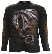 Obsidian Langarm Shirt