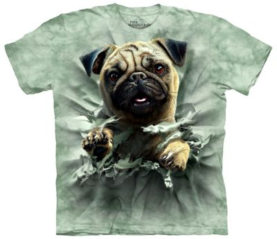 Pug Breakthru T Shirt