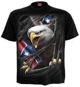 Rebel Eagle T - Shirt, schwarz