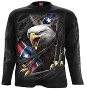 Rebel Eagle Langarm Shirt