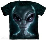 Grey Alien T - Shirt