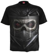 Demon Biker T - Shirt, schwarz