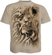 Tribal Lion T - Shirt, braun