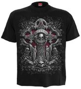 In Goth we trust T - Shirt, schwarz