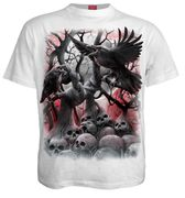 Dark Roots T - Shirt, weiß
